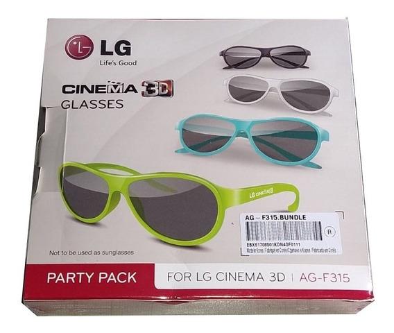 Oculos 3d Tv LG Ag-f315 - Caixa C/4 Unidade Lacrado Frete 15