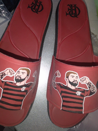 Chinelo Do Flamengo T 42/43 55,00
