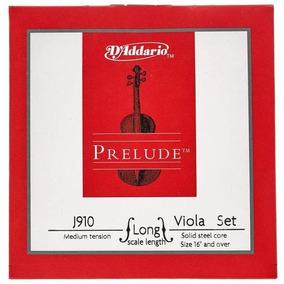 Encordoamento D´addario Viola De Arco J910 Jogo De Cordas