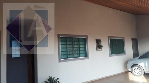 Imagem 1 de 9 de Casa Para Venda, 2 Dormitórios, Jardim Das Paineiras - Ourinhos - 517