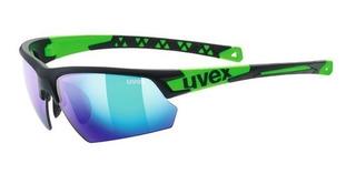 Oculos Ciclismo Uvex Sportstyle 224 Permite Clip Grau Com Nf