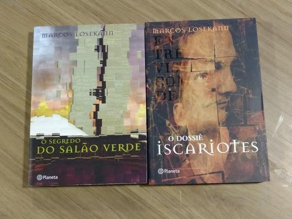 Marcos Losekann 2 Livros Novos / Grandes Autores Nacionais
