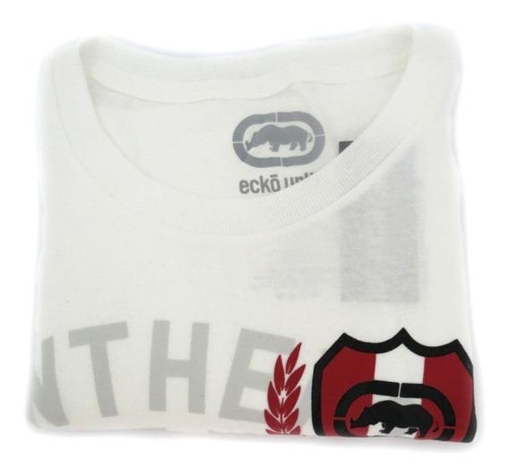 Camisa Masculina Ecko Unltd Branca Original