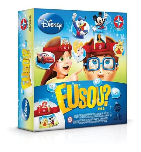 Imagem 1 de 3 de Jogo De Tabuleiro Board Game Eu Sou...? Disney Estrela