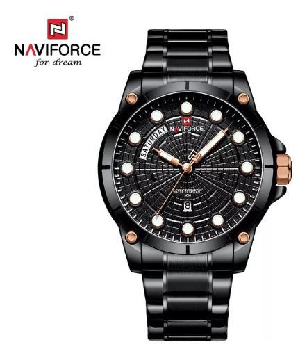 Relogio Naviforce 9152 Promoção +brinde
