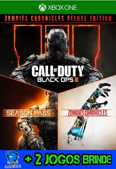 Cod Black Ops Iii Zombies Chronicles - X Box One - M. Dig.