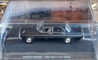 Coleção James Bond 007 1:43 Toyota Crown Só Se Vive Duas Vz