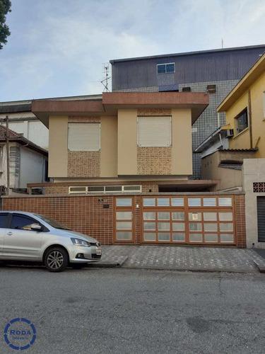 Casa Com 4 Dorms, Gonzaga, Santos - R$ 880 Mil, Cod: 16550 - V16550