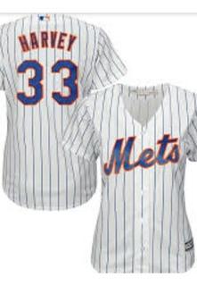 Jersy Majestic Matt Harvey New York Mets - Dama