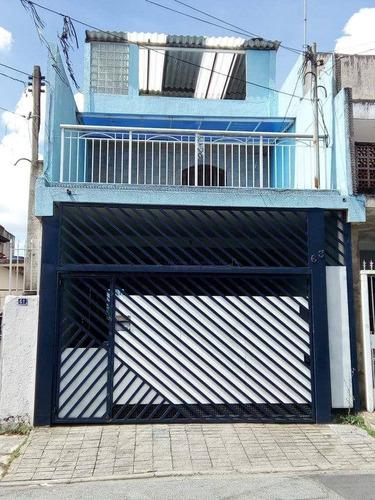 Imagem 1 de 30 de Sobrado À Venda, 125 M² Por R$ 500.000,00 - Jardim Primavera - São Paulo/sp - So0172