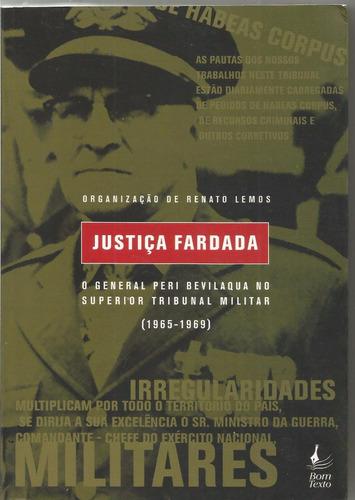 Justiça Fardada, De Renato Lemos (org.)