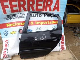 Porta Traseira Esquerda Do Peugeot 206 Sw - Com Pequenos Det