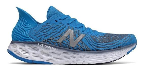 Tênis New Balance Fresh Foam 1080 V10 Corrida Masc Azul