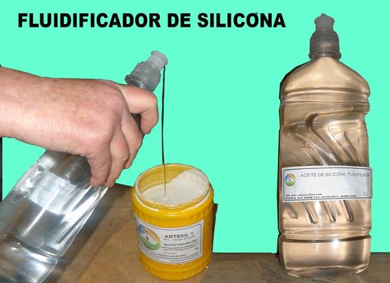 Aceite De Silicona, Fluidificador Para Pintura Acrílica