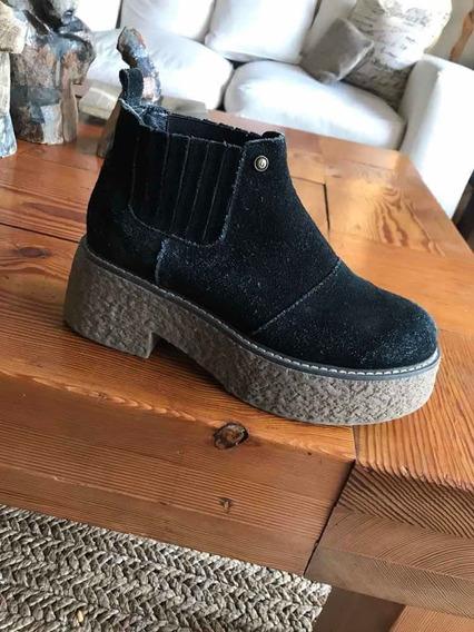 Zapatos Negros Bamers