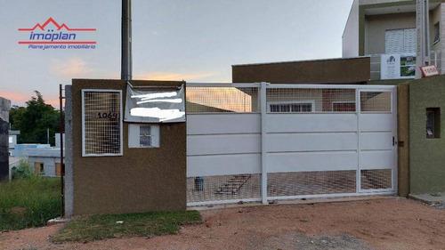 Imagem 1 de 10 de Casa Com 2 Dormitórios À Venda, 101 M² Por R$ 340.000,00 - Jardim São Felipe - Atibaia/sp - Ca4151