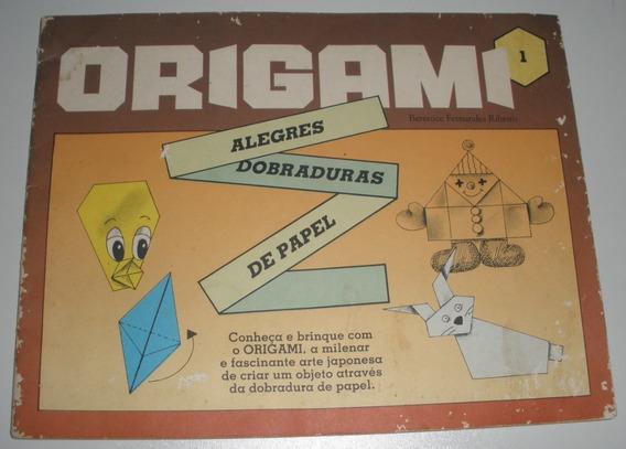 Livro Origami Arte Oriental Brinquedos Papel Antigo
