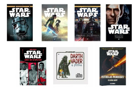Kit Com 7 Livros Star Wars