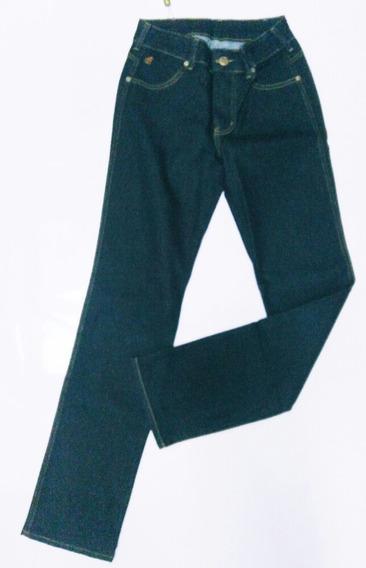 Calça Jeans Feminina Laco Amaciada Casual Azul Country 807