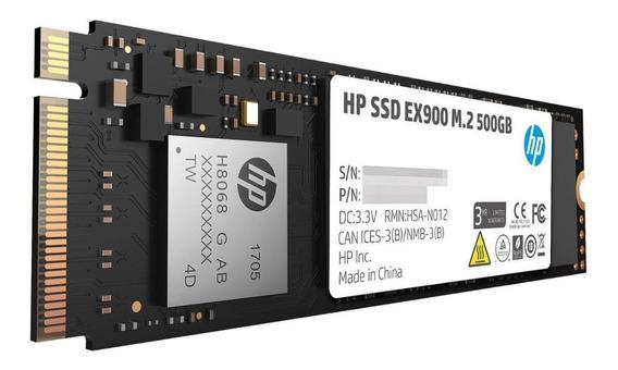 Disco Duro Estado Solido Ssd Hp M.2 Pci Express Ex900 500gb