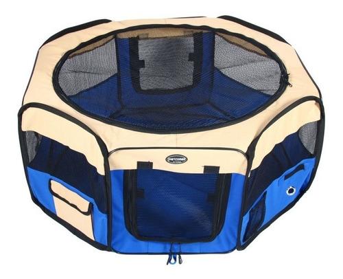 Corral Mascota Perro Lona 118cm/ Desmontable + Bolso Gratis!