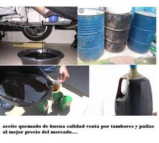 Aceite Quemado 20w50 Y Diesel 50