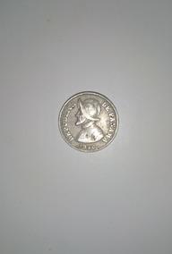 Moneda De Dos Y Medio Centecimos De Panamá De 1940