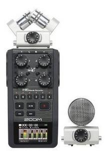Zoom - Grabadora De Audio Práctico H6 - Gris