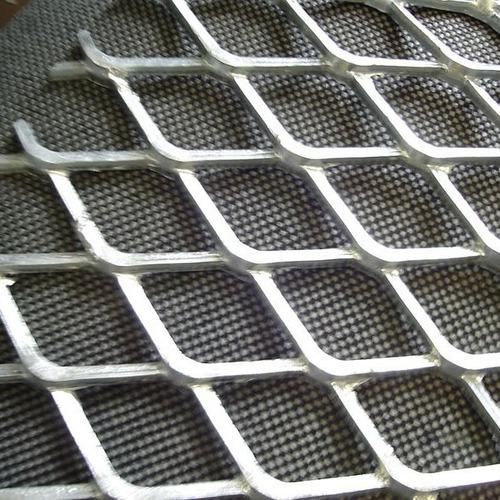 Imagem 1 de 1 de Chapa Expandida Alumínio P/garimpo De Ouro - Peça 100x30cm