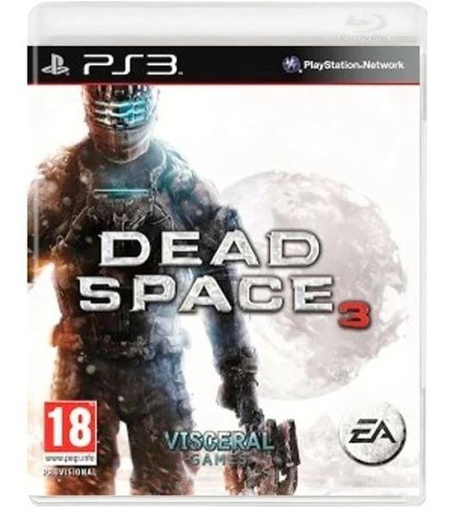 Dead Space 3 Ps3 Novo