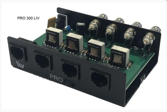 Conversor Passivo 300m 4 Canais Hd Pro 300 Liv