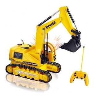 Máquina Excavadora Oruga A Control Remoto Toy Logic Tk109