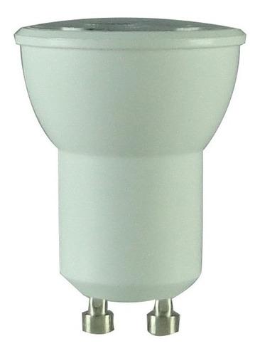 2x Lâmpada Bivolt Power Led Mini Dicróica Gu10 3w