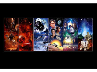 Placa Quadro - Decorativo - Star Wars - Filme - (h105)