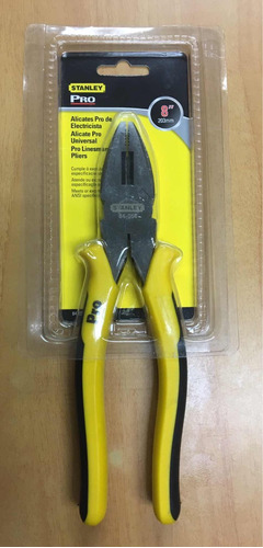 Alicate Electricista Profesional Stanley 84056