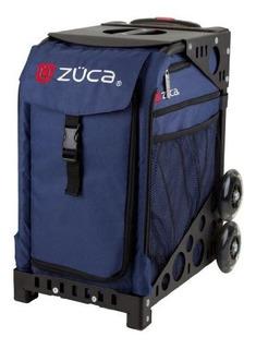 Zuca Midnight Navy Sport Insertar Bolsa Con Marco
