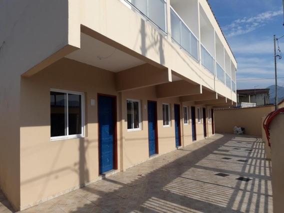 Casa Em Balneário Esmeralda, Praia Grande/sp De 60m² 2 Quartos À Venda Por R$ 165.000,00 - Ca195244