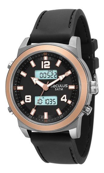 Relógio Seculus Masculino 28914g0svnu2