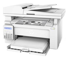 Impressora Hp Laser Jet Pro Mfp M130fn Tela Lcd 110v