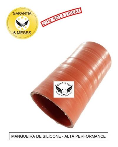Mangueira Mangote Silicone 2 Pol X 100mm Pressurização Vermelha