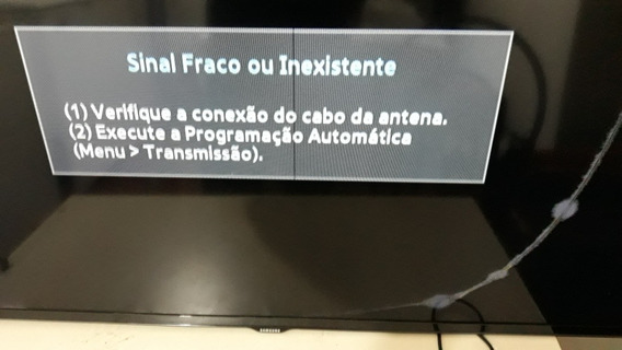 Tv Samsung Mod.un48h4200ag Com Tela Tricada