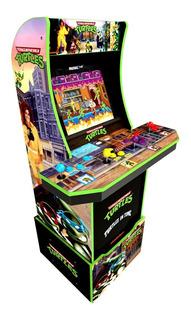 Maquinita Arcade 1 Up Tortugas Ninja Con Riser