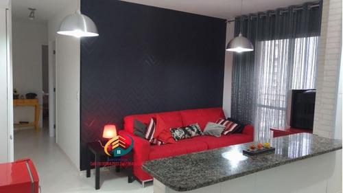 Imagem 1 de 30 de Apartamento À Venda, 62 M² Por R$ 430.000,00 - Interlagos - São Paulo/sp - Ap0640