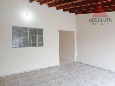 Casa Residencial Para Locação, Praia Azul, Americana - Ca0078. - Ca0078