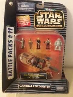 Star Wars Micromachines Cantina Encounter Battle Paks11