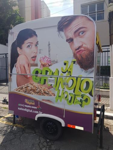 Food Truck Para Renda Extra Em Torno De  R$ 400,00 Dia !!!