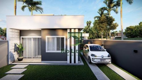 Casa À Venda, 58 M² Por R$ 240.000,00 - Village Rio Das Ostras - Rio Das Ostras/rj - Ca1207