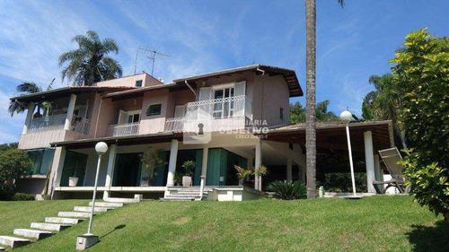 Imagem 1 de 25 de Casa De Condomínio Com 4 Dorms, Chácara Da Lagoa, Itapecerica Da Serra - R$ 2.03 Mi, Cod: 4166 - V4166