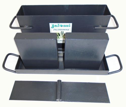 Forma Fazer Blocos Cimento Concreto 09x19x39 Cms Jalossimaq