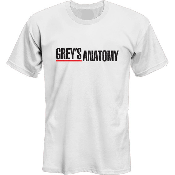 Remeras Greys Anatomy Serie Tv Logo *mr Korneforos*